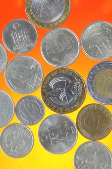 Free Coins Stock Photography - 3216522