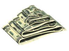 Free Dollar Pyramid Royalty Free Stock Image - 3216656