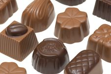 Free Assortment Of Chocolates Stock Photos - 3217533