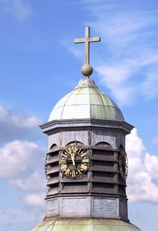 Free Cupola An Cross Stock Photography - 3217632