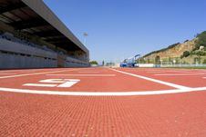 Free Track Athletics Royalty Free Stock Photo - 3217805