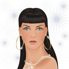 Free Glamour Girl Stock Image - 3218091