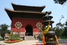 Free Little Potala Temple Royalty Free Stock Photo - 3218105