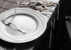 Free Pasta On The Table Stock Image - 3218111