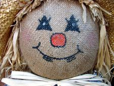 Free Scarecrow Face Stock Images - 3218444
