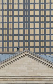 Free Montreal Building Texture Stock Photography - 3218472