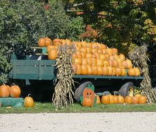 Free Roadside Pumkin Display Stock Photos - 3218663