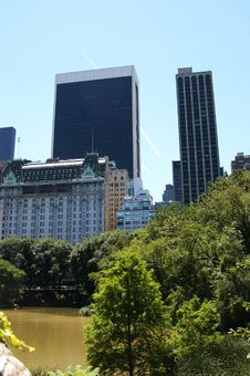 Free View From Central Park 3 Royalty Free Stock Photos - 3218738