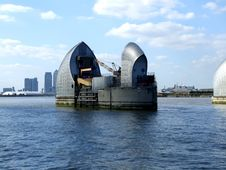 Free The Thames Barrier 2 Royalty Free Stock Images - 3218899