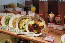 Free Japanese Food On Display Royalty Free Stock Photo - 3218935