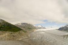 Free Glacier Near Skagway Alaska Stock Photography - 3219232