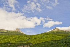 Free Mountains In Alaska Stock Images - 3219474