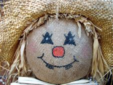 Free Scarecrow Face Stock Images - 3219804