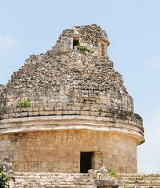 Free El Castillo Temple Royalty Free Stock Photography - 3219957