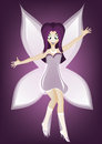 Free Purple Fairy Royalty Free Stock Photography - 32107547