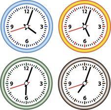 Set Hours. Stock Image