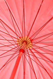 Free Red Umbrella Stock Images - 32120444