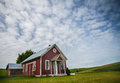 Free Little Red Schoolhouse Royalty Free Stock Image - 32134376