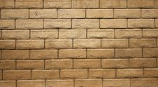 Block Wall Stock Image