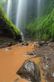 Madakaripura Waterfall In East Java, I