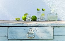 Free Tequila And Lime Stock Photo - 32158590