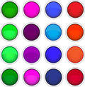 Free Set Of Colored Icons Royalty Free Stock Image - 32161136