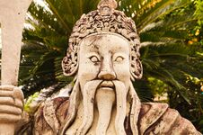 Free Statue In Grand Palace Royalty Free Stock Photography - 32172577