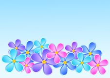 Free Greeting Card With Paper Flower. Stock Image - 32173121