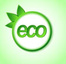 Free Eco Friendly Icon On Frame. Stock Photos - 32173163
