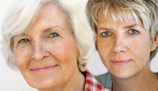 Free Senior Woman  And Mature Daughter 3 Stock Photos - 32177343