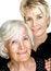 Free Senior Woman  And Mature Daughter 4 Royalty Free Stock Photos - 32177368