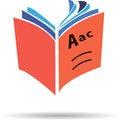 Free Vector Logo Book Royalty Free Stock Photos - 32182558