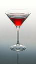 Free Martini Glass With Red Coctail Royalty Free Stock Images - 32184449
