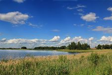 Free Lake In The Summer Stock Image - 32180651