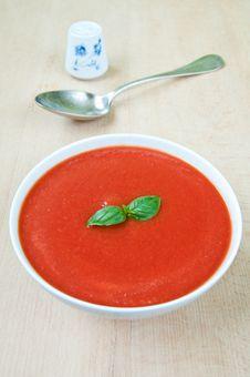 Free Tomato Soup Stock Image - 32184031
