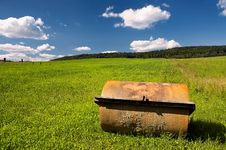 Free Agricultural Machine For The Field Stock Photos - 32185893