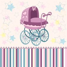 Free Baby Pram Stock Photos - 32189563
