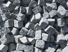 Free Pile Of Paving Stones Royalty Free Stock Image - 32190806