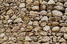 Free Old Stone Wall Background, Cembolo Fortress Stock Photo - 32199230