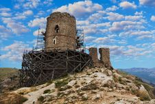 Free Cembolo Genoese Fortress In Balaklava Stock Photos - 32199283