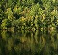 Free Autumn Lake Reflection Royalty Free Stock Photography - 3221347