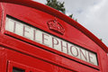 Free Red Telephone Box Stock Image - 3222461