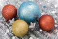 Free Blue, Red And Golden Christmas Stock Photos - 3222743