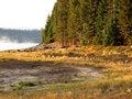 Free Sunrise At Crescent Lake Stock Image - 3226571