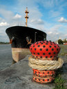 Free Bow Of A Moored Boat Stock Photography - 3229012
