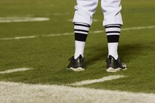 Free Referee S Feet On The Field Stock Photography - 3220122
