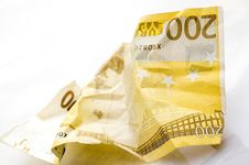Free Crumpled Banknote Royalty Free Stock Photos - 3220448