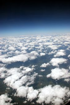 Free Aaaerials In The Sky Royalty Free Stock Photos - 3221888