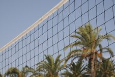 Free Volleyball Net Royalty Free Stock Images - 3222539