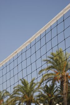 Free Volleyball Net Royalty Free Stock Photo - 3222545